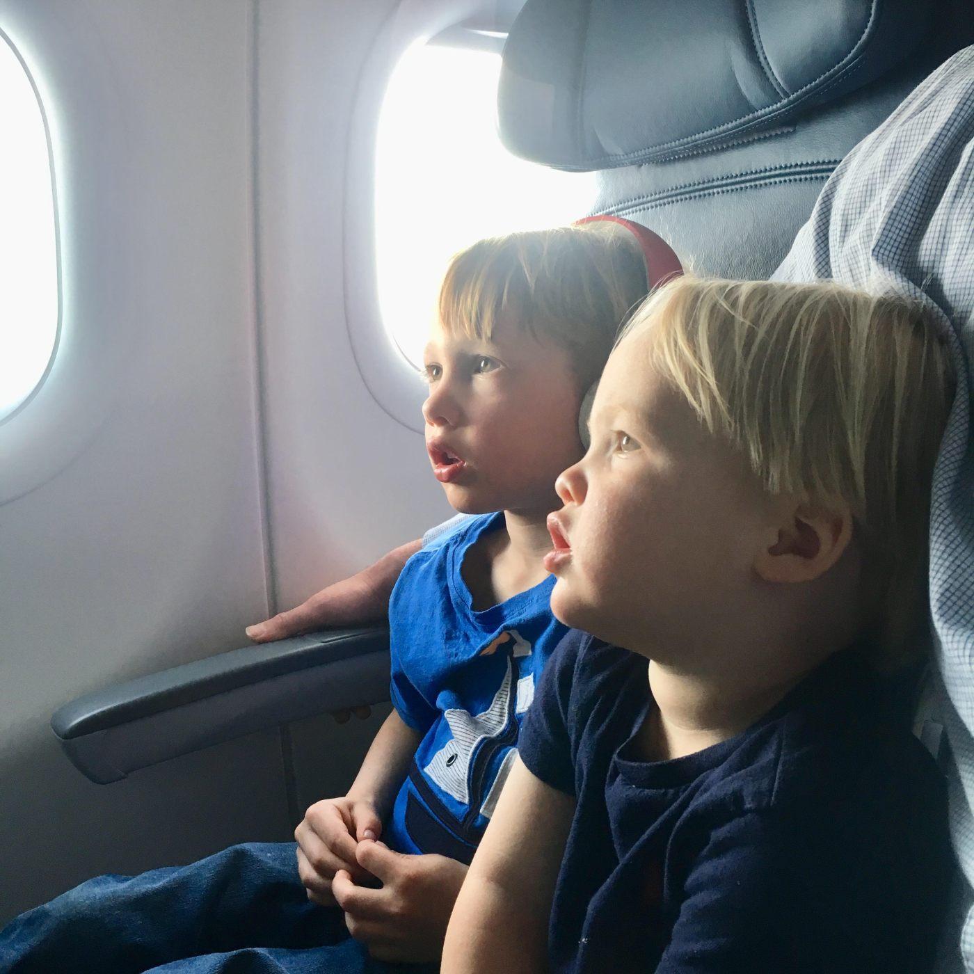 Boys Traveling