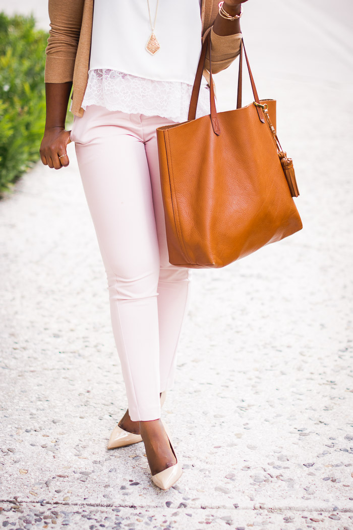 how-to-style-pink-pants. Rachellejpg