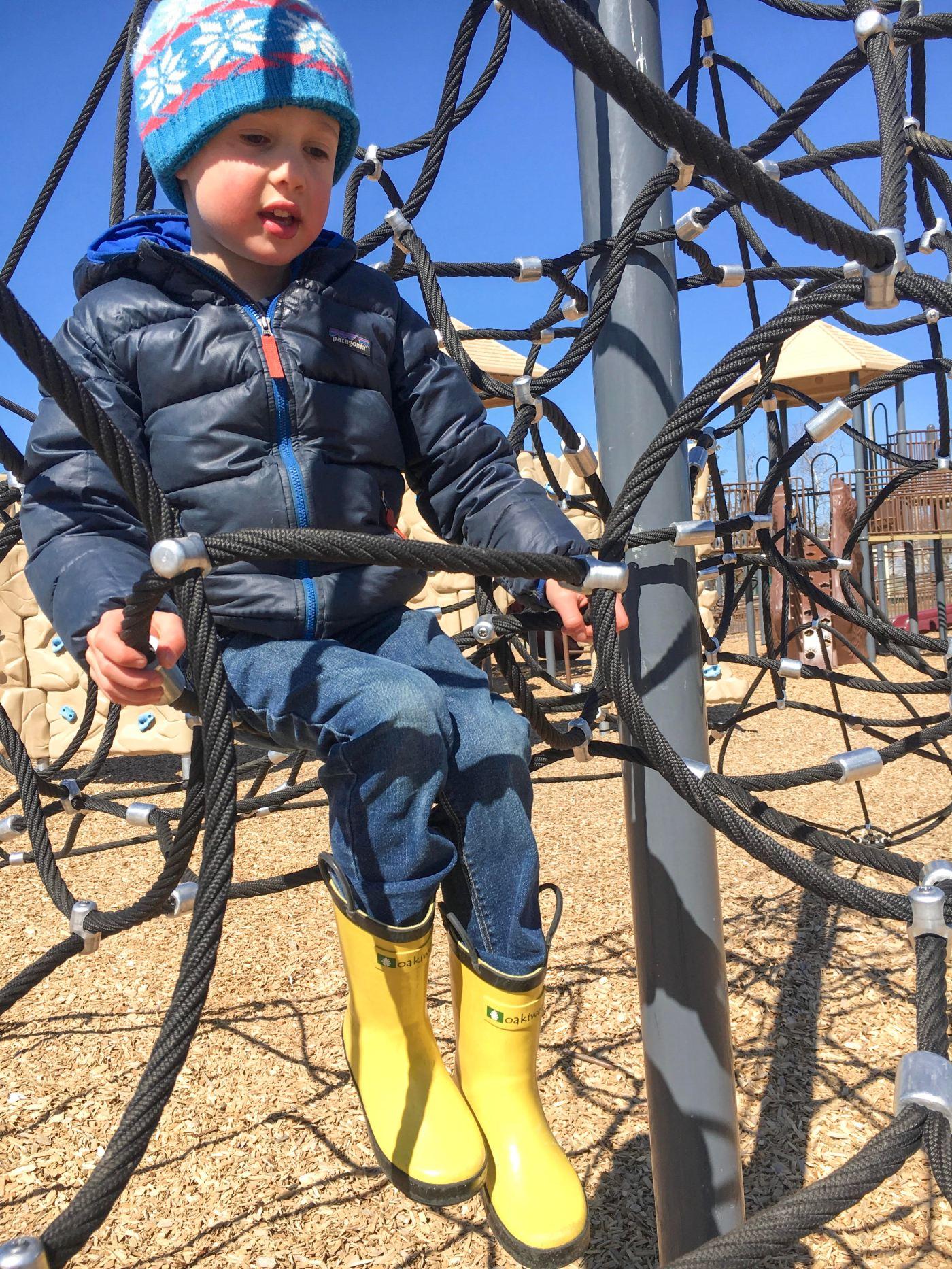 Oakiwear Boots at playground.jpg
