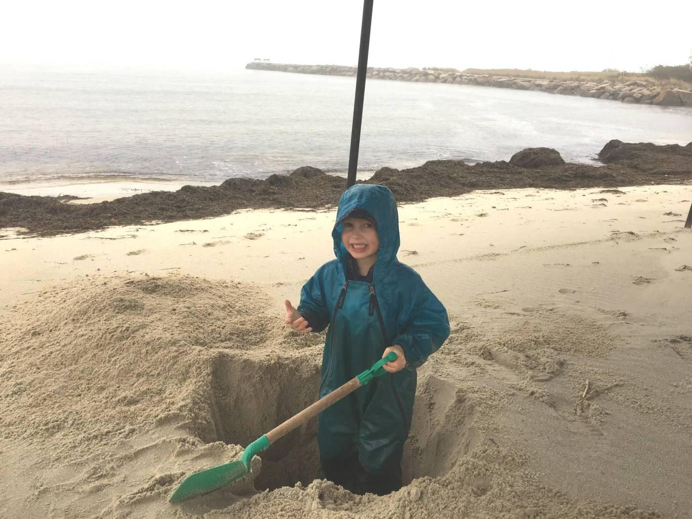 Tuffo at the Beach
