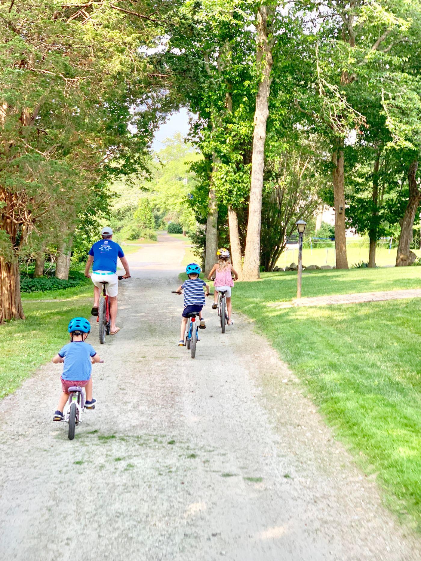 Biking in Mattapoisett